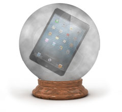 The Cloudy Apple Crystal Ball