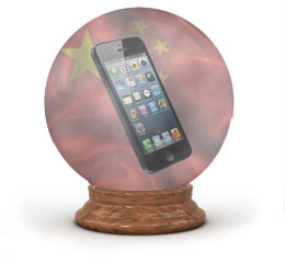 The China Apple Crystal Ball