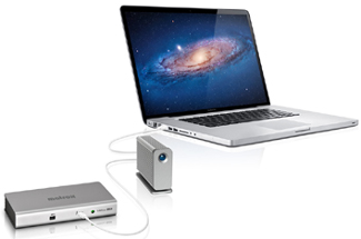 Matrox DS1 Thunderbolt docking station for MacBook Pro and Air