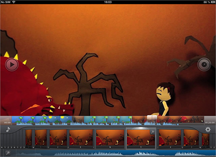 iStopMotion 2 adds new audio and video editing tools