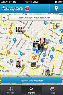 Foursquare to reveal more about you next year