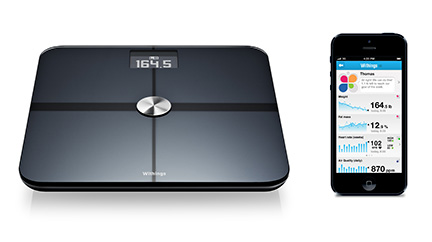 The Withings Smart Body Analyzer scale