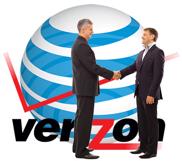 AT&T paid almost $2 billion for Verizon radio spectrum