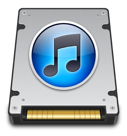 External iTunes Drive Interface