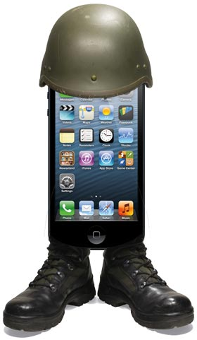 Soldier iPhone