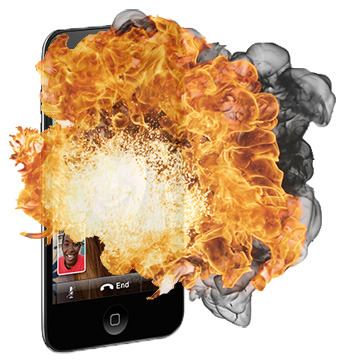 Artist rendition: The iPod touch explosion