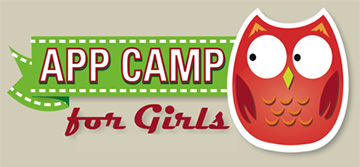 App Camp For Girls Summer Camp