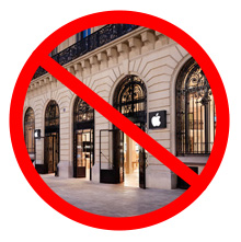 France to Apple: No late nights in your stores