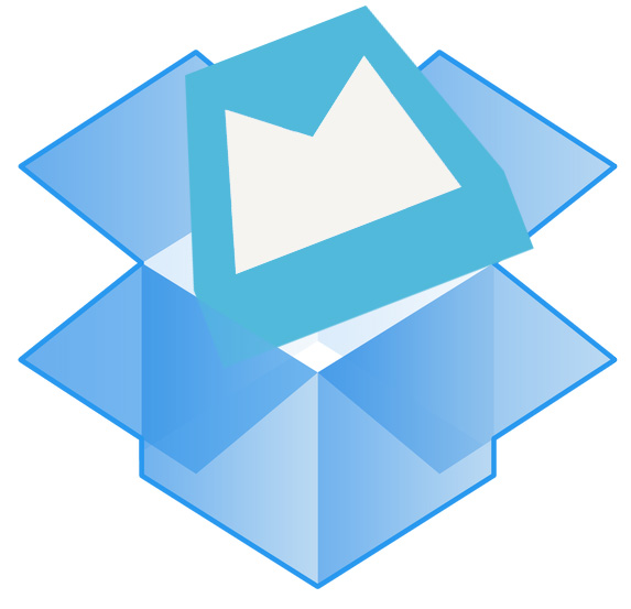 Dropbox adds Mailbox to its shared folder