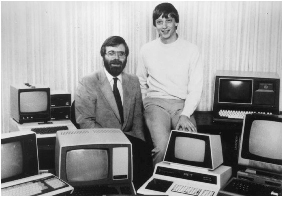 Bill Gates & Paul Allen Pose Again for Classic 1981 Photo