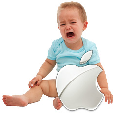 Analysts and investors aren't all that happy with Apple's performance