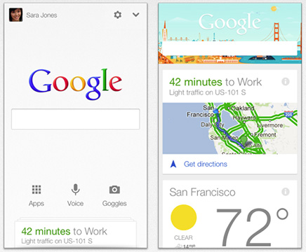 Google Now, now for the iPhone
