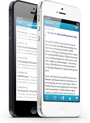 Another Google Reader Replacement: Feed Wrangler