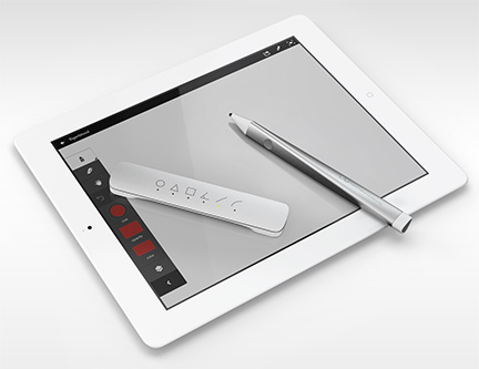 Adobe's Mighty stylus & Napoleon digital ruler