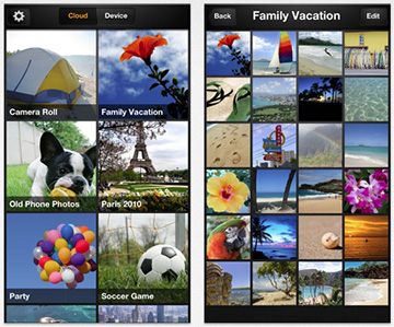 Amazon Cloud Photos for the iPhone and iPod touch