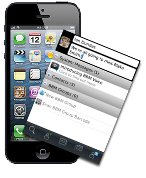 BlackBerry Messenger coming to the iPhone