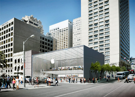 Apple's proposed Union Square flagship store
