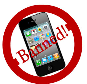 iPhone 4 Banned