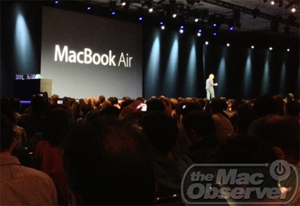 Apple intros new MacBook Air at WWDC 2013