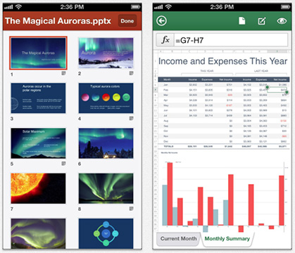 Microsoft is finally bringing its Office Suite apps to the iPhone, but only for Office 365 subscribers