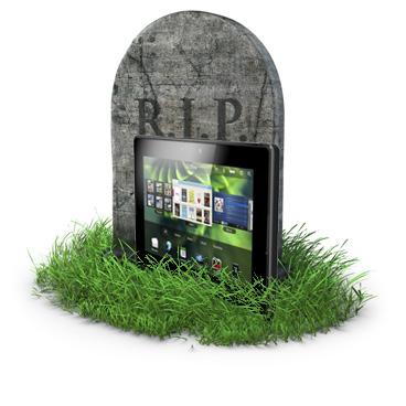 BlackBerry puts PlayBook on death row