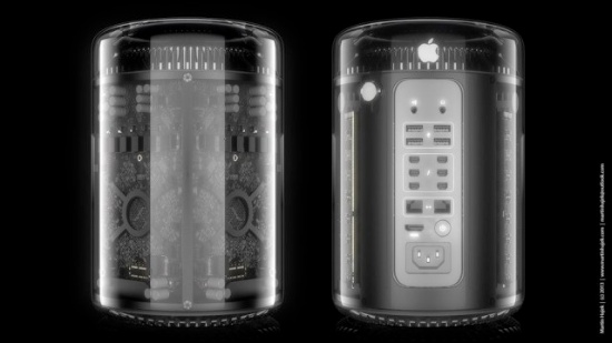The New Mac Pro: What if the Aluminum Were Glass?