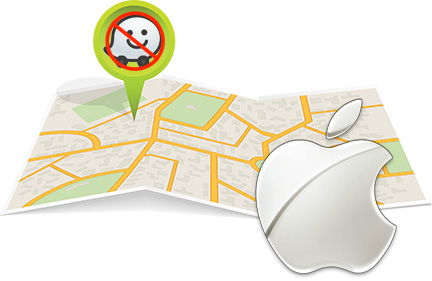 Apple crowd source maps patent means Waze's exit may be just ahead