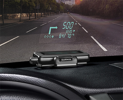 Garmin HUD Turns Your iPhone into a GPS Heads Up Display