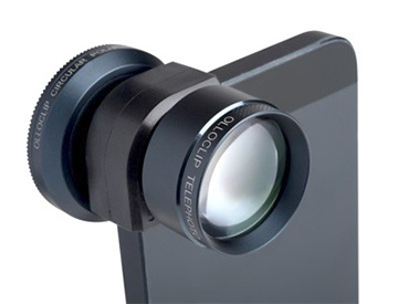 Olloclip Adds Telephoto, Polarized Lenses to iPhone