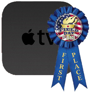 Apple TV outsells Roku for Internet streaming