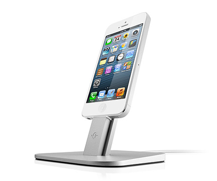 Twelve South's HiRise Holds and Charges Lightning iPhones, iPads