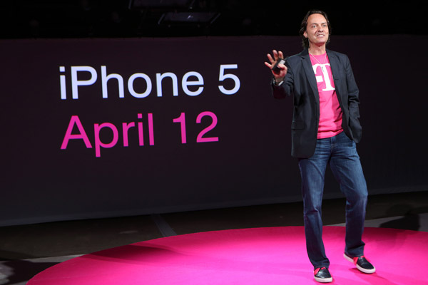 John Legere Announcing the iPhone 5 Coming to T-Mobile