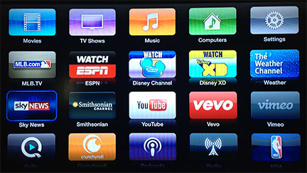 Apple TV gets Vevo, Disney Channel, and more