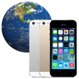 The iPhone 5s and iPhone 5c are coming to 35 more countries on October 25