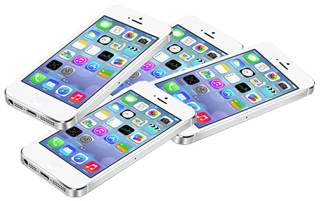 About 66 percent of iOS devices are already running iOS 7