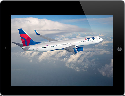 Delta first to gain FAA approval for iPad use below 10,000 feet