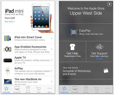 Apple improves iBeacon support in its Apple Store apps for the iPhone and iPad