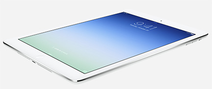 Apple's new iPad Air