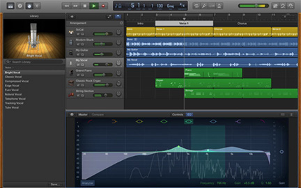 GarageBand 10 gets bug fixes in first update, but no new features
