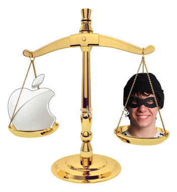 Apple v. Highway Robber
