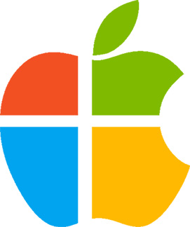 Think Microsoft and Apple will merge? Think again.