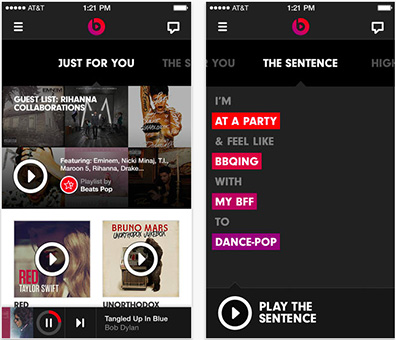 Beats Music spins up its streaming music service