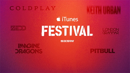 iTunes Festival at SXSW? Yes, please.