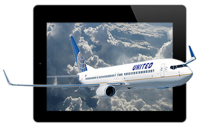 United brings iPad movie viewing to its flights