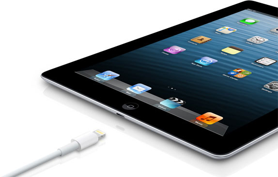 iPad 4 with Lightning Connector