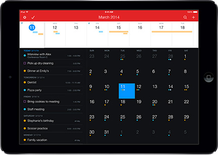 Fantastical 2 for the iPad. Yes, please.