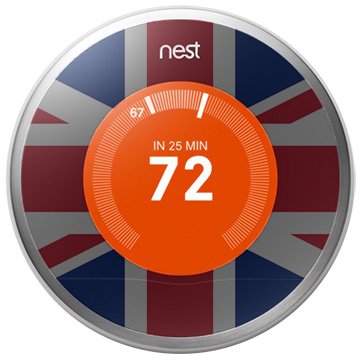 The Nest smart thermostat is finally available in the UK