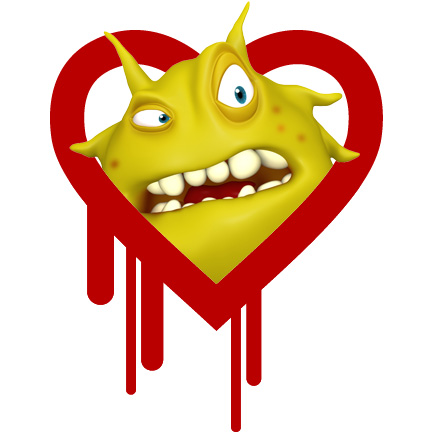 If your VPN server uses OpenSSL, like OPenVPN, it's a heart bleed target