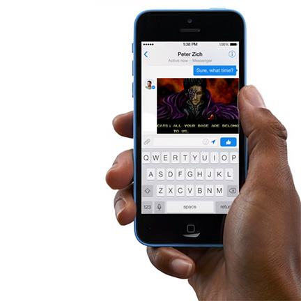 Facebook wants to own your mobile messaging