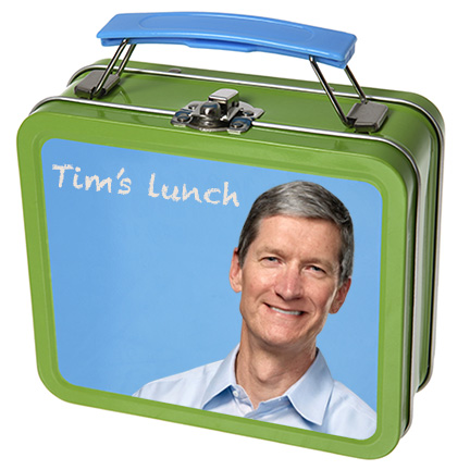 Lunch with Tim Cook is worth $300,000 for charity